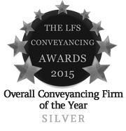 LFS Conveyancing Awards 2015 - Silver