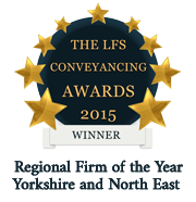 LFS Conveyancing Awards 2015 - Winner